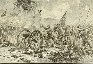 1863 infantry assault in U.S. Civil War