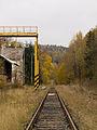 Malá Morávka, nádraží, traťová kolej u nákladiště.jpg