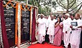 Mallikarjun Kharge inaugurated the 300 bedded ESIC Model Hospital, at Bapunagar, Ahmedabad (Gujarat) on June 03, 2011. The Minister of State (Independent Charge) for Mines, Shri Dinsha J. Patel is also seen.jpg