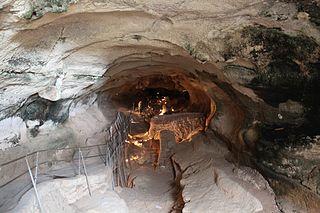 Għar Dalam Cave and archaeological site in Malta