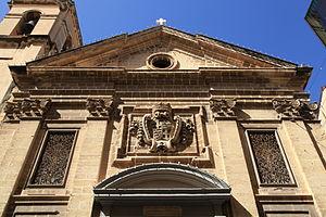 St Francis of Assisi Church (Valletta) - Image: Malta Valletta Triq ir Repubblika Triq Melita Church of St. Francis of Assisi 05 ies