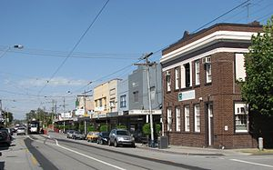 Malvern East, Victoria - Waverley Road