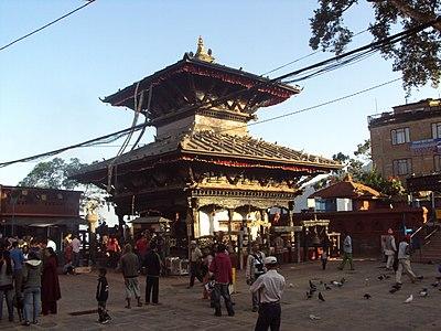 Manakamana Temple in Manakamana, Gandaki, Nepal