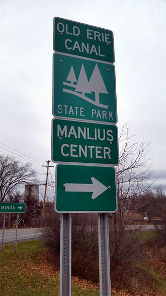 Manlius, New York - Manlius Center at the Old Erie Canal State Historic Park