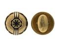 Manschettknappar, 1864 - Hallwylska museet - 109953.tif