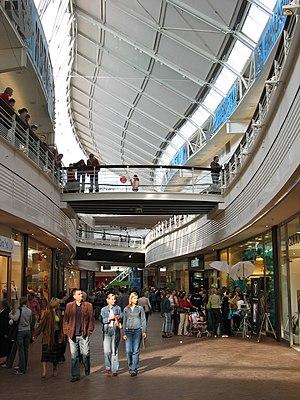 Manufaktura - The main shopping hall