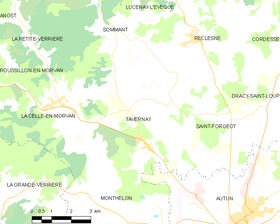 Map commune FR insee code 71535.png