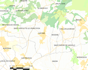 Map commune FR insee code 84030.png