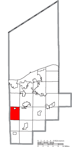 Location of Camden Township in Lorain County