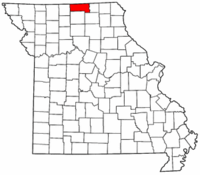 Map of Missouri highlighting Putnam County.png