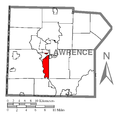 Map of Taylor Township, Lawrence County, Pennsylvania Highlighted.png