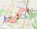 Mapa de Reserva van der Hammen en Bogotá.png