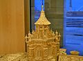 Maqueta de la catedral de Terol, cimbori.JPG
