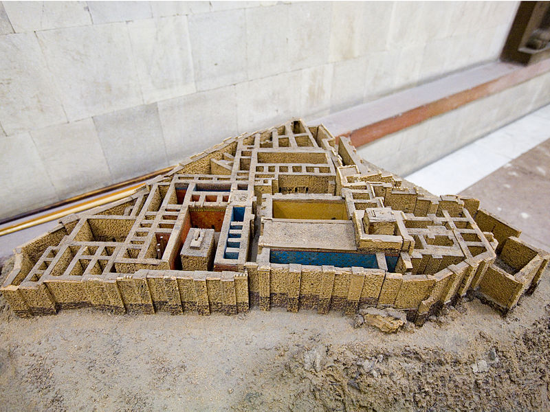 Файл:Maquette of the Erebuni fortress2.jpg