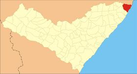 Localização de Maragogi