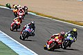 Marc Márquez leads the pack 2014 Jerez 4.jpeg