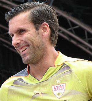 Marc Ziegler - Ziegler in training with VfB Stuttgart