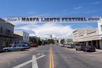 Marfa, Texas - Downtown Marfa