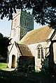 Margaret Marsh parish church, tower and porch - geograph.org.uk - 517727.jpg