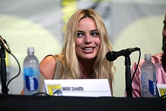 Margot Robbie - Robbie at the San Diego Comic-Con to promote Suicide Squad in 2016