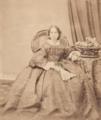 Maria da Purificação Corpas Garcia, Baronesa de Santa Cruz - Alfred Fillon.png
