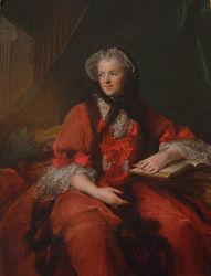 Jean-Marc Nattier: Portrait of Marie Leszczyńska