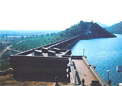 Vani Vilasa Sagara dam located near the Hiriyur taluka