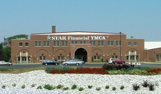 Marion, Indiana - This is the YMCA - Memorial Coliseum Today