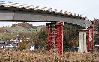 Raschau-Markersbach - Image: Markersbacher Brücken