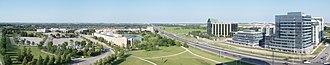 Markham Civic Centre - Aero view of the Markham Civic Centre