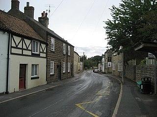 Markington Village in North Yorkshire, England