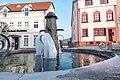 Marktplatz, Brunnen Geisa 20180302 002.jpg