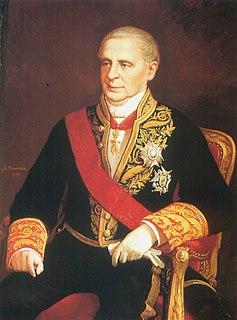 Manuel de Pando, 6th Marquess of Miraflores Prime Minister of Spain