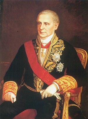 Manuel de Pando, 6th Marquis of Miraflores - The Marquis of Miraflores