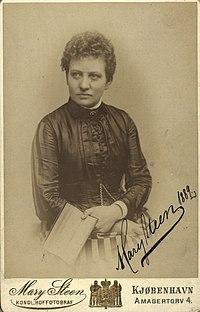 Mary Steen 1889.jpg