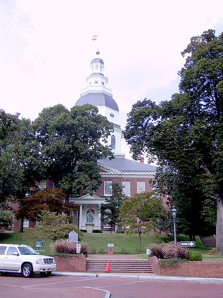 Maryland Capital building