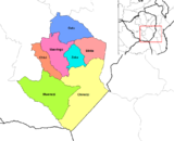 Districts of Masvingo Province