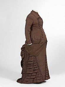 c93ac48b45509 Maternity dress (ca. 1880), Jacoba de Jonge-Collection in MoMu, Antwerp /  Photo by Hugo Maertens, Bruges
