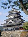 Matsumoto Castle, administrative headquarters of Matsumoto Domain.jpg