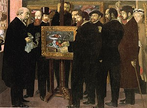 Homage to Cézanne - Homage to Cézanne, Maurice Denis, 1900. Oil on canvas. Musée d'Orsay, Paris.