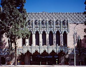 Mayan Revival architecture - Mayan Theater, Los Angeles