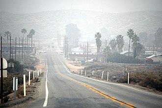 McKittrick, California - Image: Mc Kittrick California SR33 at SR58