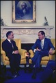 Meeting in the Oval Office between Nixon and King Hussein of Jordan. - NARA - 194338.tif