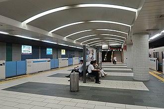 Meguro Station - Namboku Line Platform