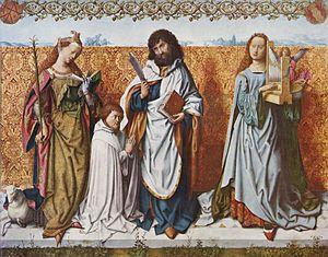 Master of the Saint Bartholomew Altarpiece - Central panel of the Saint Bartholomew Altarpiece