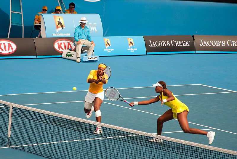 File:Melbourne Australian Open 2010 Venus and Serena Net.jpg