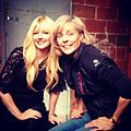 Melinda Hill and Maria Bamford behind the scenes of All Growz Up with Melinda Hill.jpg