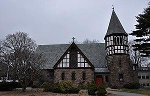 Trinity Episcopal Church (Melrose, Massachusetts) - Image: Melrose MA Trinity Episcopal Church