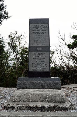 Claudius Miller Easley - Image: Memorial Of Brig Gen Easley Of US Army