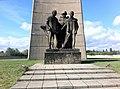 Memorial Statue at Sachsenhausen Concentration Camp, Oranienburg.jpg